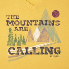 Women's Mountains Calling Cool Tee