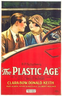 "Clara Bow in ""The Plastic Age,"" 1925"