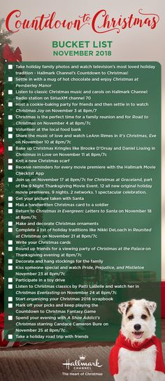 Mark off your Countdown to Christmas Bucket List activities with this festive list! Gather a group of friends and family and check them off together! Christmas Time Is Here, Winter Christmas, Christmas Ideas, Merry Christmas, Christmas Yard, Christmas Quotes, Christmas Signs, Christmas 2019, Christmas Crafts