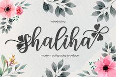 Shaliha Script#font #handmade #handwritten Handwritten Fonts, Calligraphy Fonts, Modern Calligraphy, Free Fonts For Cricut, Cricut Fonts, Free Fonts For Silhouette, Silhouette Cameo, Open Fonts, Commercial Use Fonts