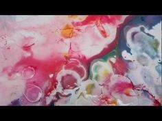 ▶ Alcohol Ink on Yupo - YouTube