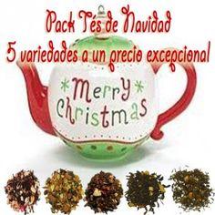 Pack Sabor Navidad, 5 variedades de infusiones de venta solo en época navideña.