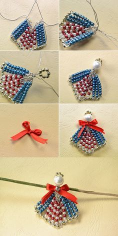 Beads brooch, any interest? LC.Pandahall.com will release the tutorial soon.