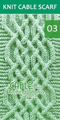 Celtic Weave Cable Scarf, Its Free. Skill level: Advanced knitter and up : Celtic Weave Cable Scarf, Its Free. Skill level: Advanced knitter and up Cable Knitting Patterns, Knitting Stitches, Knit Patterns, Free Knitting, Knitting Needle Conversion Chart, Easy Knitting Projects, Knitting Ideas, Hand Knitted Sweaters, Knitted Scarves