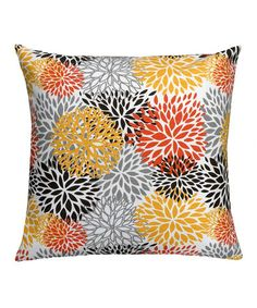 Take a look at this Spicy Floral Pillow Cover by Scoope on #zulily today!