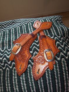 Spur Straps handmade by Fall River Saddle Shop (made in the USA).  Like them on Facebook