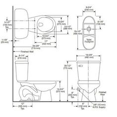 toilet rough in dimensions   Toilet Rough-In   Projects to
