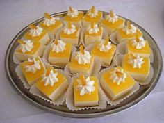 Homemade sinaasappelkwarttaartjes