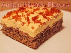 Romanian Desserts, Romanian Food, Romanian Recipes, Sweet Recipes, Cake Recipes, Dessert Recipes, Hungarian Cake, Bread Cake, Pastry Cake