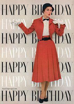 Vintage Vogue #birthday