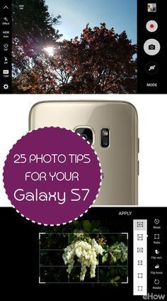 DId you know the Samsung Galaxy S7 can do all these things when it comes to taking photos? Give these tips a try! www.ehow.com/how_12343274_25-tips-taking-better-photos-samsung-galaxy-s7.html?utm_source=pinterest.com&utm_medium=referral&utm_content=freestyle&utm_campaign=fanpage