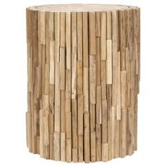 @Overstock - Add of touch of nature to your decor with these wooden round end tables from the Bali Collection. Made from recycled teakwood and birchwood, this table is made to last, and it will add unique flavor to your home that is hard to find.http://www.overstock.com/Home-Garden/Bali-Teak-Strips-Round-End-Table/6372942/product.html?CID=214117 $142.19