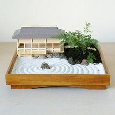 japanischer Minigarten