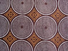A intricate design of African geometry which reminds me of zulu hats www.zuluhats.com