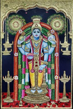 Mysore Painting, Tanjore Painting, Shree Krishna, Lord Krishna, Ganesh Photo, Ganesh Idol, Lord Vishnu Wallpapers, Ganesha Painting, Cute Krishna