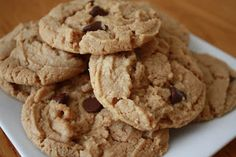A Little Fisch in A Big Pond!: Gluten Free Peanut Butter Chocolate Chip Cookies!
