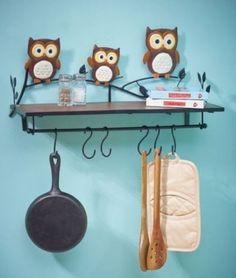 Beautiful Owl Kitchen Decor
