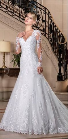 Vestido Semi Sereia - Blog de Casamento para Noivas | PapeleEstilo