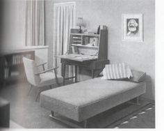 From a 1961 East German guide to home decorating (pictured in Greg Catillo's Cold War on the Home Front: The Soft Power of Mid-Century Design)