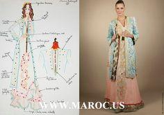Robe de soirée marocaine 2014