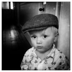 Kids look great in hats...