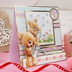 Tonic Cards, Foil Highlights, Hunkydory Crafts, Card Making Kits, Bear Hugs, Little Books, Blank Cards, Special Gifts, Cardmaking