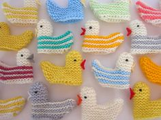 duckie finger puppets