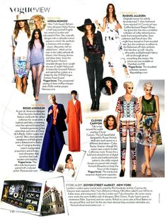 Clover Canyon   Vogue India, April 2014
