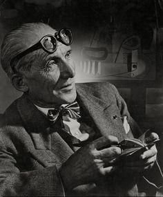 Le Corbusier (1954)    Yousuf Karsh