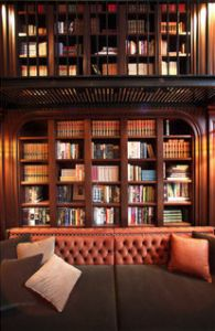 My new obsession, the two-story library bar at NoMad Hotel