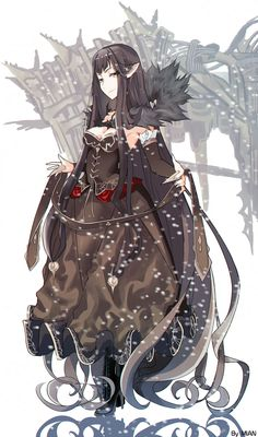 h fate/apocrypha fate/grand order fate/stay night assassin of red (fate/apocrypha) semiramis (fate) cleavage dress heels pointy ears Fate Stay Night Assassin, Fate Assassin, Assassin Of Red, Fantasy Characters, Female Characters, Anime Characters, Fate Zero, Semiramis Fate, Fate/stay Night