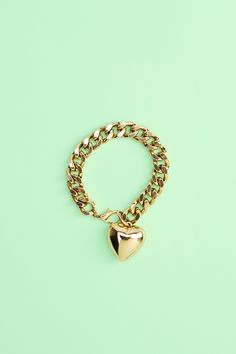 Heart Of Gold Bracelet