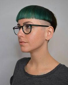 """80 Likes, 1 Comments - @luvbowlcuts on Instagram: """"True artistry by talented stylist @teagan_cousins. This fantastic #bowlcut combines precision…"""""""