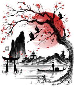 American Karate/Kenpo/Jujitsu/Taekwondo/Karate/Kajukenbo/Krav Maga/Jeet Kune Do Japanese Tattoo Symbols, Japanese Tattoo Designs, Japanese Tattoo Art, Japanese Drawings, Japanese Artwork, Japanese Painting, Samurai Artwork, Arte Tribal, Art Asiatique