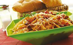 Receta de pasta a la italiana