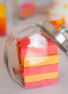 "Pink, Orange & Yellow with flowers / Birthday ""ALexa Cate's 2nd Birthday Party"" 