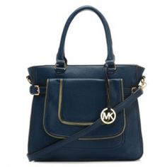 Michael Kors Naomi Large Navy Satchel [MK0000001889] - $56.99 : Michael Kors Outlet, Michael Kors Outlet Store