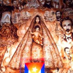 La Virgen de la Caridad del Cobre ~ Our Lady of Charity ~ is the patroness of Cuba. This picture was taken Saturday September 8, 2012, (her feast day) at La Ermita de la Caridad in Miami, Florida