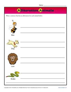 Eyes front idiom practice worksheets english idioms and sentences alliteration animals fandeluxe Choice Image