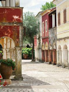 Visiting the Danilia Village in Corfu, home of The Durrells - Hello Peagreen Corfu Greece, Mykonos Greece, Athens Greece, Corfu Imperial, Places To Travel, Places To Visit, Travel Destinations, Greek Royal Family, Corfu Town
