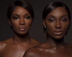 Dark skinned women are beautiful : Photo Black Girls Rock, Black Girl Magic, Dark Skin Beauty, Brown Skin Girls, Ebony Beauty, Tumblr, Madame, Beautiful Black Women, You're Beautiful