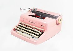Why can't there be a little shoppe with nothing but vintage typewriters.