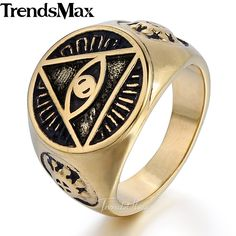 https://buy18eshop.com/trendsmax-illuminati-pyramid-eye-symbol-gold-color-316l-stainless-steel-signet-ring-mens-jewelry-hr365/  Trendsmax Illuminati pyramid eye symbol Gold-color 316L Stainless steel Signet Ring Mens Jewelry HR365   //Price: $10.82 & FREE Shipping //     #buy18eshop