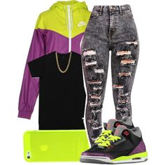 ? by jadeessxo on Polyvore featuring polyvore, fashion, style and NIKE