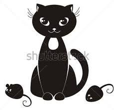 Výsledek obrázku pro omalovánky kočka