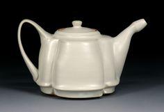 Tina Gephart, my old ceramics instructor Sensible teapot, designed to serve.