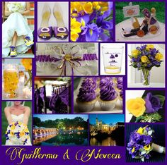 All this wedding stuff . Finally see some good stuff ! Purple and gold runs deep ! Yellow Cream, Purple Yellow, Wedding Stuff, Dream Wedding, Wedding Ideas, Boutonnieres, Flower Bouquet Wedding, Center Pieces, Colour Schemes