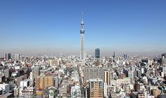 Have to go to the top of Tokyo Sky Tower, Second tallest in the world. 634 m. Will be completed in May!