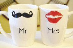 his and hers. mr and mrs.  unreal.