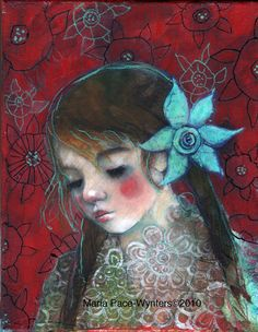 Maria Pace-Wynters This Canadian painter is a born creative, an artist to the core, creating art from a very early age. Her artwork. Spirited Art, Portraits, Collage Portrait, Mixed Media Painting, Face Art, Figurative Art, Painting Inspiration, Les Oeuvres, Cool Art